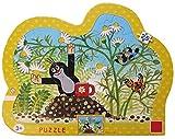 Maulwurfshop - 8212 Der Kleine Maulwurf Rahmenpuzzle Puzzle Kinderpuzzle Kontur Kamille Tasse 25 Teile
