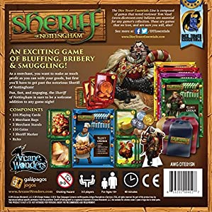 "Arcane Wonders ""Sheriff of Nottingham"" Board Game"