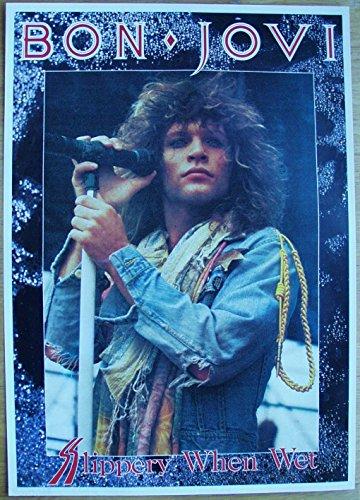 1986 Poster (Bon Jovi Poster Nr. 6 Format 62 x 86 cm Original von 1986)