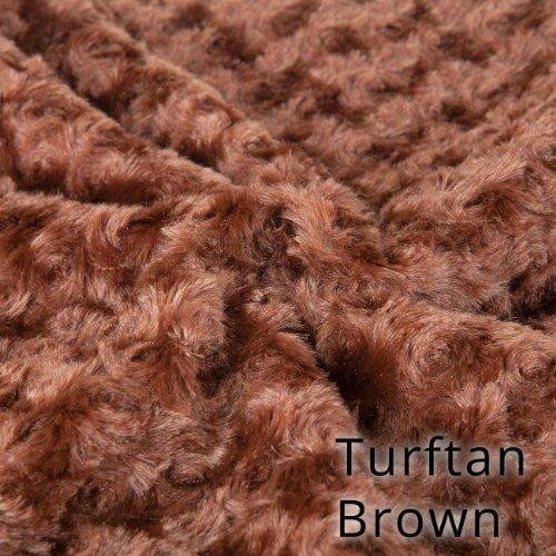 Neotrims morbido pile minky rosa pelliccia tessuto,