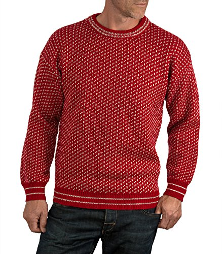 wool-overs-mens-pure-wool-nordic-style-jumper-red-oatmeal-extra-extra-large