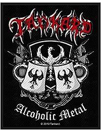 Jarra alcohólica Metal parche