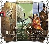 Die große Jules-Verne-Box: Robur der Sieger, Reise zum Mittelpunkt der Erde, In 80 Tagen um die Welt - Jules Verne