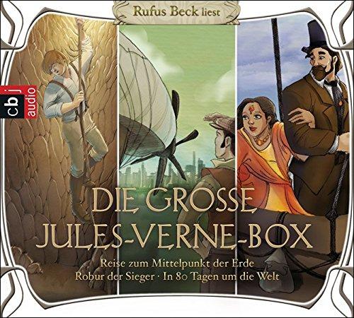 Die große Jules-Verne-Box: Robur der Sieger, Reise zum Mittelpunkt der Erde, In 80 Tagen um die Welt