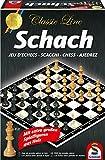 Schmidt Spiele 49082 Classic Line: Schach (gr. Spielfiguren)