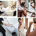 Sammeltuch Beard Apron Bartschürzemit Saugnäpfen für Spiegel Haarfänger für Bartgestaltung Bib Bartlatz mit tragebar Beutel,Gute Geschenk für Männer … (Weiß)