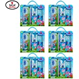 Party Propz Peppa Pig Stationary 24 Sets for Peppa Pig Birthday Return Gifts Or Return Gifts for Kids