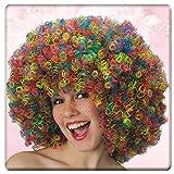 Carnival Toys 2284 - Perücke Clown, bunt