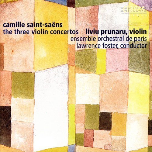 Saint-Saëns: The Three Violin Concertos