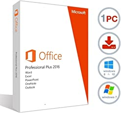 Microsoft Office Professional Plus 2016 - Vollversion - ESD - 32/64 Bit - Geliefert per E-Mail