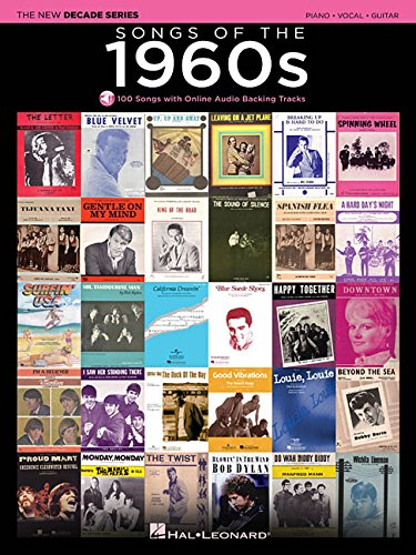 Songs of the 1960s: Piano-vocal-guitar