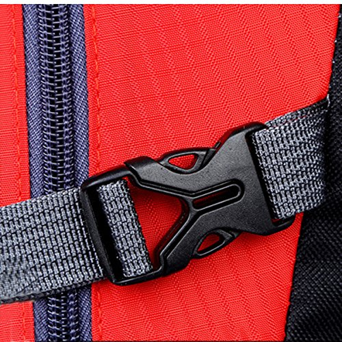 All'aperto Sport Escursionismo arrampicata Viaggio Le spalle Campeggio Impermeabile indossabile Nylon Zaino (verde) Nero