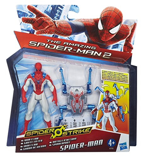 Image of Hasbro Spiderman Strike Figure Iron Claw, 3.75 inch
