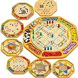 L Y Hölzerne Ballpuzzlespiel-Kontrolleure, die Schach Zwölf in Den Hölzernen Bauklotzspielwaren Einer Schachfigurkinder Fliegen,Ein