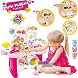 #9: Kids Choice Supermarket Shop Play Set Toy with Sound Effects, Multi Color