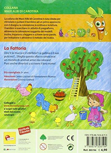 Libro La Fattoria Maxi Albo Da Colorare Ediz Illustrata Di Aa Vv