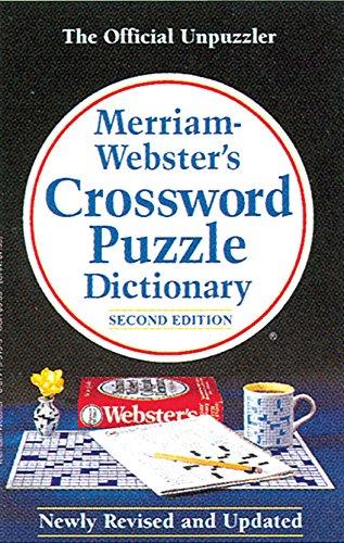 Merriam - Webster's Dictionary of Crossword Puzzle