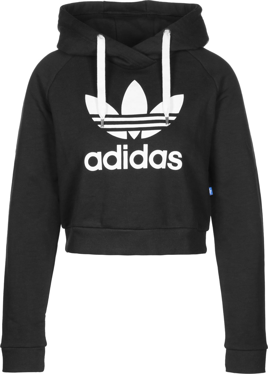 adidas trf crop sweat-shirt femme femme trf crop