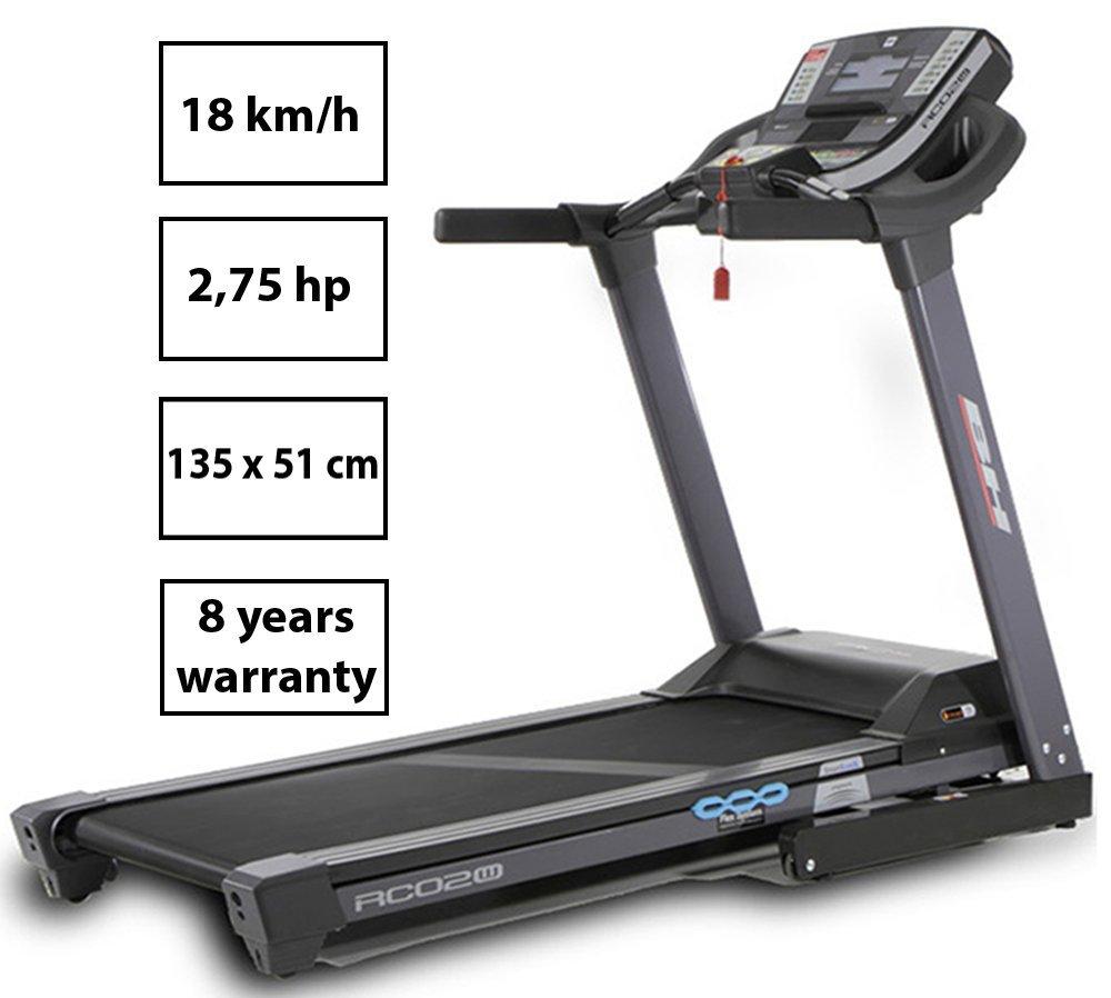 BH Fitness I. RC02W, Tapis Roulant Unisex – Adulto, Black, Unica 3 spesavip