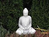 Grandi enormi Buddha di pietra guardie del tempio monaco graniglie frostfest Feng Shui