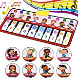 RenFox Piano Mat, Musical Dance Mat Tough Play Keyboard Mat for Kids Portable Colorful Music toy Toy Gift