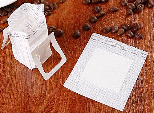 KUKI Lugs Kaffeefilterbeutel Kaffeepulver Filter Papiertüte Kaffee brauen Papiertüte