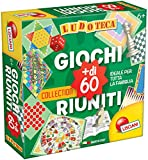 liscianigiochi 32945 Ludoteca – Games Gathered 60 games (More, in Italian Version) [Imported from Italy]