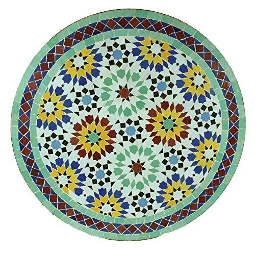 Table de jardin méditerranéenne   Mosaïque marocaine ...