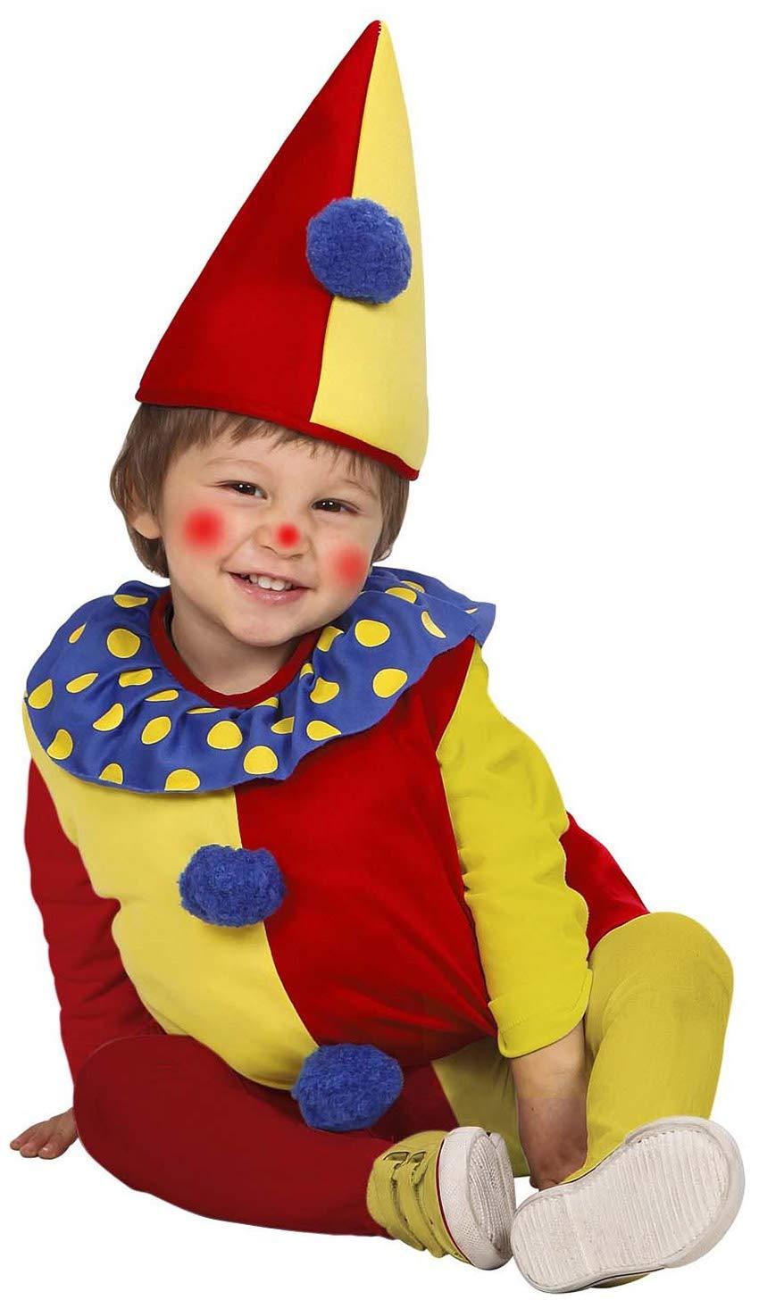 WIDMANN - Costume da pagliaccio, 1-3 anni, 90-104 cm 2 spesavip