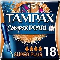 Tampax Compak Pearl Super Plus Tampones - 18 Unidades