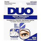 Ardell Duo Quick Set Clear/Transparent, ögonfranslim för konstgjorda ögonfransar, original för perfekta fransar (transparent)