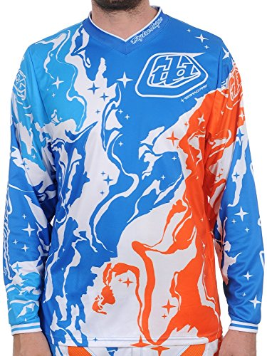 Troy Lee Designs GP Galaxy Jersey Blau/Orange L - Galaxy Jersey