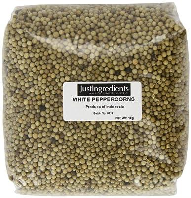 JustIngredients Essential White Peppercorns Tub 700 g