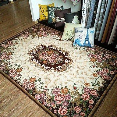 Anti-Rutsch-Jacquard-Teppich für Wohn-Wohnzimmer / Esszimmer Schlafzimmer Teppich