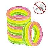 Pictek anti-moustiques Bracelets Nouvelle version, Golden+Yellow+Pink