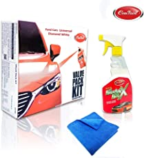 Com-Paint Scratch Remover Car Care Value Pack kit for Volkswagen Polo - Candy White