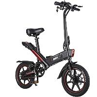 Freego 14 Zoll Elektrofahrrad mit 350 W 36 V 10 Ah Lithium Batterie Faltbares Elektrofahrrad E-Bike für Erwachsene