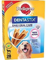 Pedigree Dentastix Large Breed Dog - Oral Care, 1.08 kg Monthly Pack (28 Sticks)