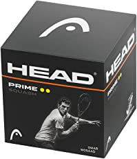 Head Prime Yellow Double Dot Squash Ball
