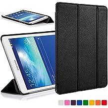 Forefront Cases® Samsung Galaxy Tab 3 Lite 7.0 SM-T110 Funda Carcasa Stand Smart Case Cover Protectora Plegable de Cuero – Función automática inteligente de Suspensión/Encendido