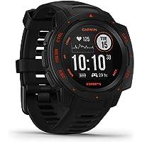 Garmin Instinct Esports – GPS-Smartwatch mit spezieller E-Sport-App, Live-Streaming von Puls und Stresslevel in das…