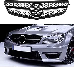 Front Grill Für Benz W204 08 14 C Class C200 C250 C300 C350 Schwarz Chrom Netz Stil Gitter Durch Motorfansclub Auto