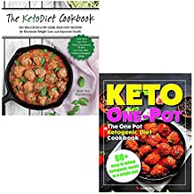Ketodiet cookbook and keto one pot diet collection 2 books set