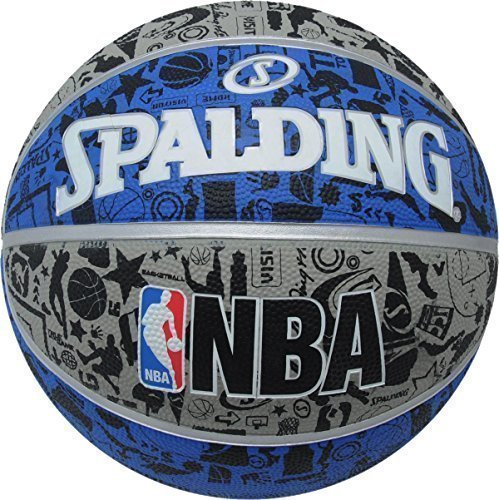 Spalding Official Game Basketball Sports Nba Training Graffiti Basketball Ball by Spalding