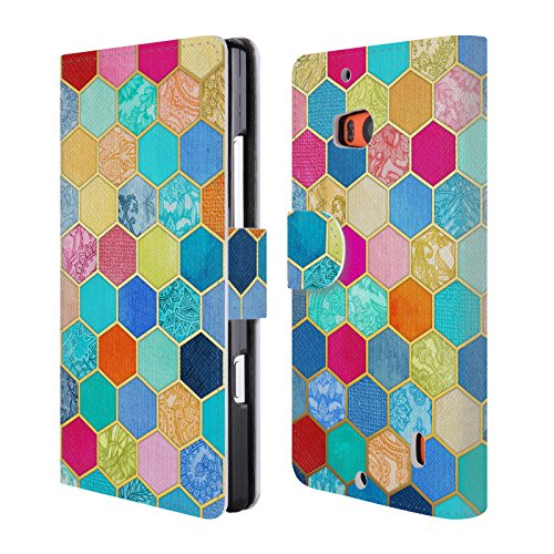 official-micklyn-le-feuvre-jewel-colours-hexagon-patterns-leather-book-wallet-case-cover-for-nokia-l