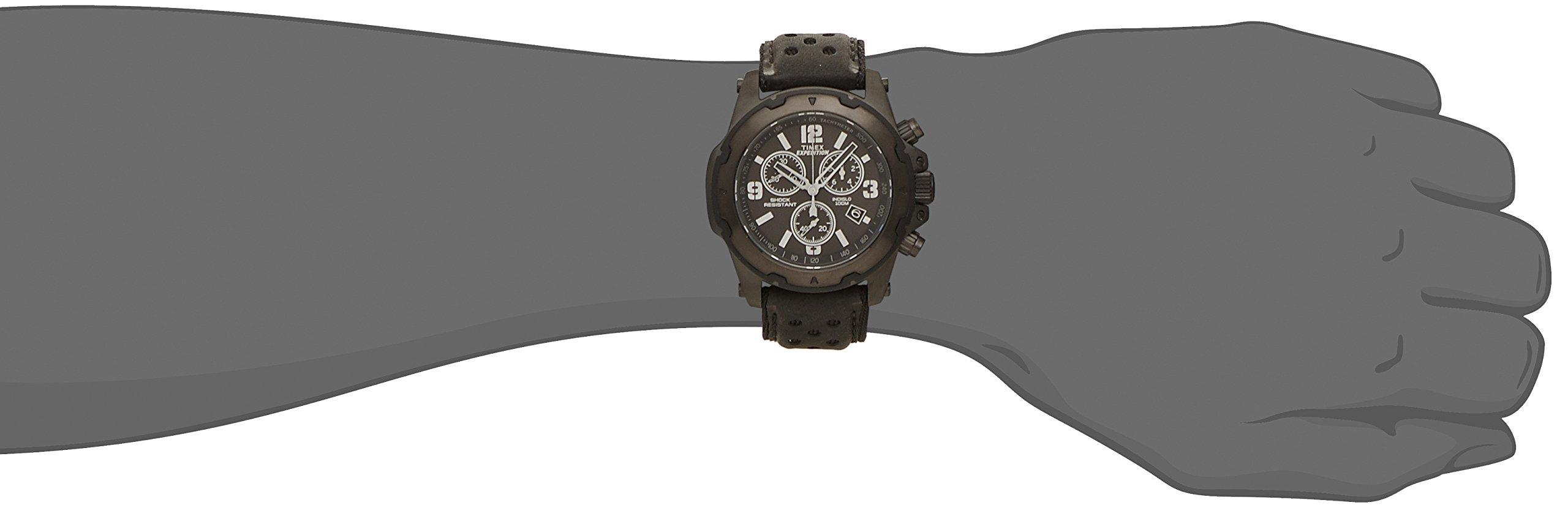 Timex Expedition TW4B01400 – Reloj de Cuarzo para Hombres, Color Negro