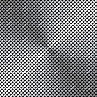 Hoja perforada de aluminio de 1,5 mm de grosor de 10 mm 500 mm x 500 mm R10 T15