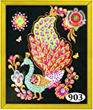 #7: Asian Hobby Crafts Divya Ratan Painting DIY Kit Size (16x22-inch)