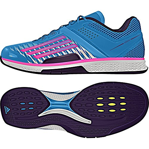 adidas Performance, Scarpe da pallamano donna blau / pink / lila 5.5 UK - 38.2/3 EU
