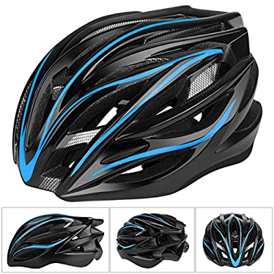 Six Foxes Cycle Helmet, 2018 Lightweight Unisex Adult Cycling Bike Helmet with Adjustable Thrasher Specialized Helmet for Men Women, 55-63 cm from Six Foxes